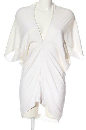 Rau Berlin Bluzka tunika biały W stylu casual