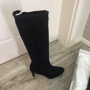 Peter Kaiser Stretch Boots dark blue leather