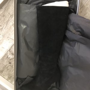 Peter Kaiser Stretch Boots black leather