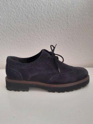 Gabor Sznurowane buty niebieski