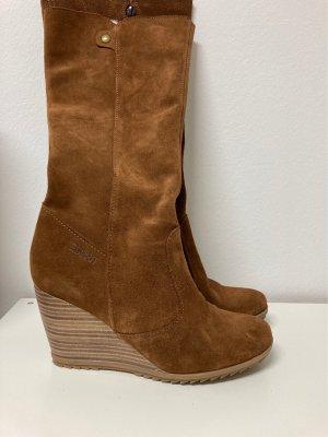 Rauleder Stiefel für Herbst
