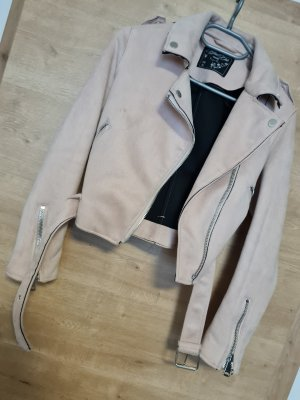 Faux Leather Jacket rose-gold-coloured
