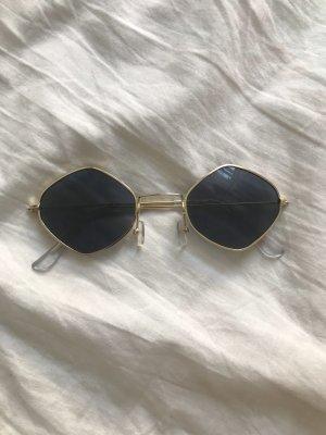 Lunettes noir-doré