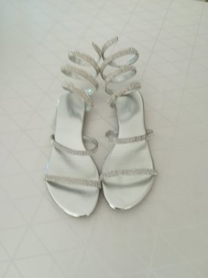 Raxmax Sandalen silber, Größe 38