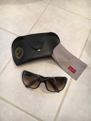 Ray Ban Gafas de sol cuadradas marrón oscuro-marrón