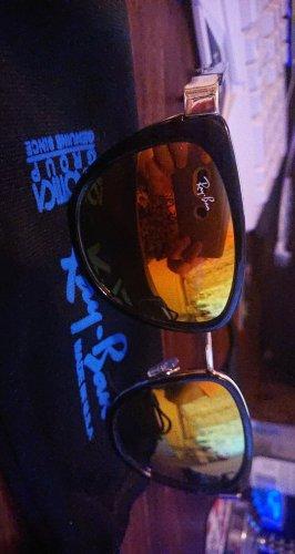 Ray Ban Bril zwart-goud Oranje