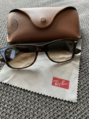 Ray Ban 2132 Sonnenbrille New Wayfarer shiny havana