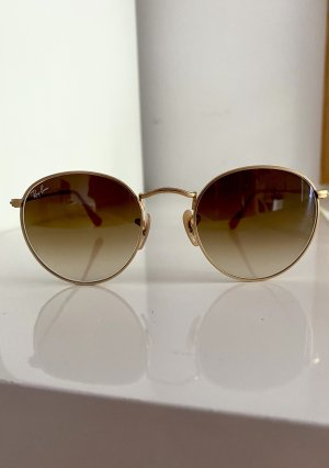 Ray Ban Glasses gold-colored-camel