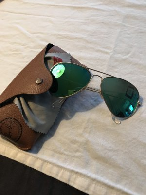 Ray Ban Gafas de piloto color oro-verde