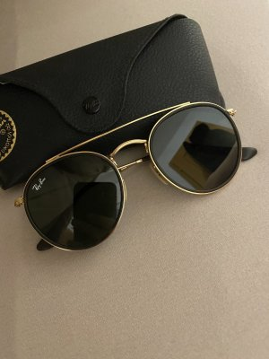 Ray Ban Gafas negro-color oro