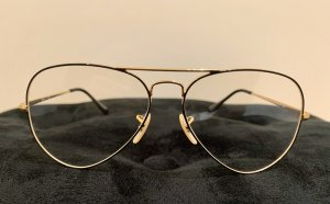 Ray Ban Gafas blanco-color oro