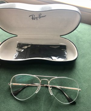 Ray Ban Glasses white-black brown