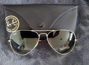 Ray Ban Gafas de sol ovaladas color oro-gris
