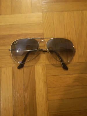 Rayban Oval Sunglasses black-dark blue