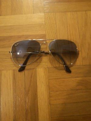Rayban Gafas de sol ovaladas negro-azul oscuro