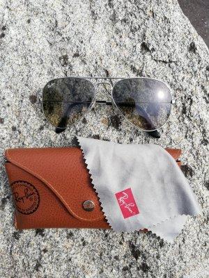 Ray Ban Bril donkergrijs-grijs-bruin