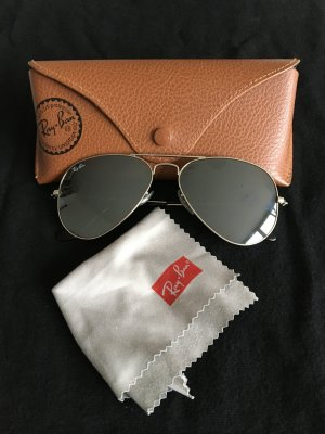 Ray Ban Glasses silver-colored