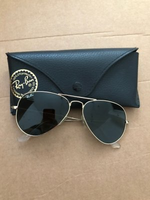 Ray Ban Aviator Glasses black