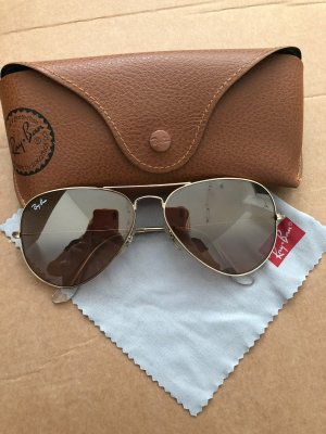 Ray Ban Lunettes aviateur or rose-doré