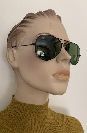 Ray Ban Aviator Schwarze Sonnenbrille