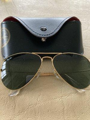 Ray Ban Pilotenbril goud
