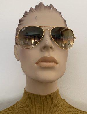 Ray Ban Aviator Sonnenbrille Gold/ Braun mit Verlauf