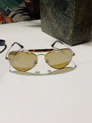 Ray Ban Aviator Sonnenbrille, limited Edition, gold, vergoldet, NP 385€