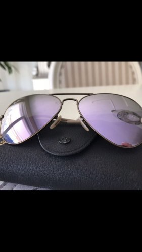 Ray Ban Aviator top lila / Gold
