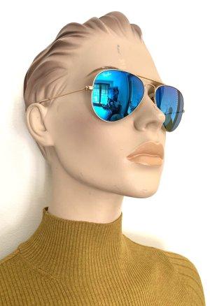 Ray Ban Aviator verspiegelte Sonnenbrille TOP