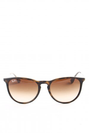 Ray Ban Glasses black-brown abstract pattern business style