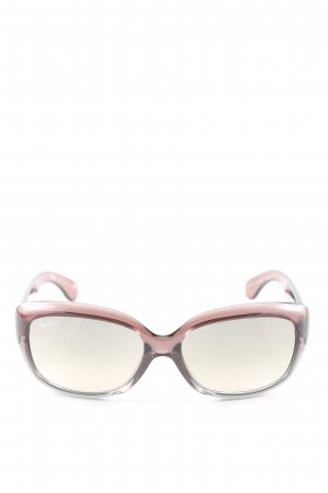 Ray Ban Brille pink Farbverlauf Casual-Look