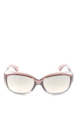 Ray Ban Occhiale rosa Colore sfumato stile casual