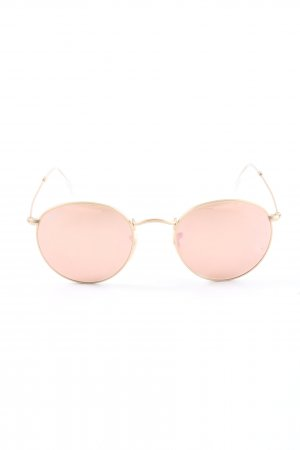 Ray Ban Bril roze-goud casual uitstraling