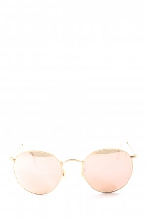 Ray Ban Brille creme Casual-Look