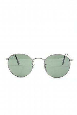 Ray Ban Bril zilver casual uitstraling