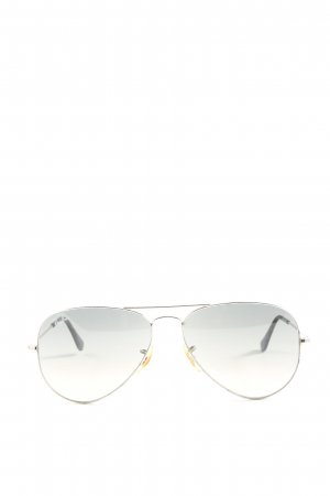 Ray Ban Brille hellgrau Casual-Look