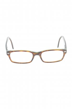 Ray Ban Brille braun Leomuster Casual-Look