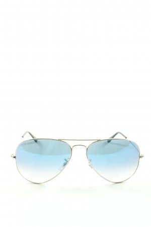 Ray Ban Glasses silver-colored-black casual look
