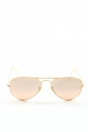 Ray Ban Glasses gold-colored casual look