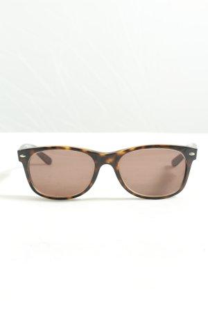 Ray Ban Gafas negro-naranja claro estampado repetido sobre toda la superficie