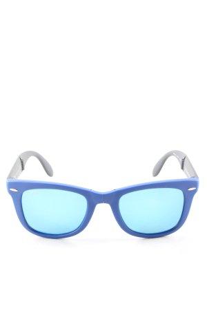 Ray Ban Gafas azul-negro look casual