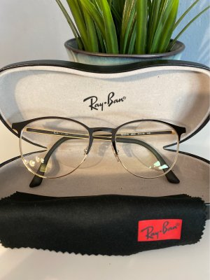 Ray Ban Glasses black-gold-colored