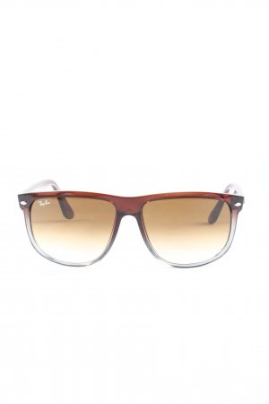 Ray Ban Glasses brown casual look