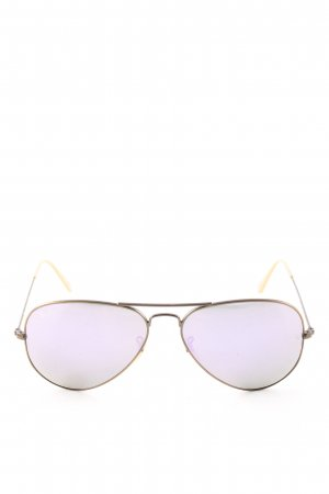 Ray Ban Brille lila-goldfarben Casual-Look