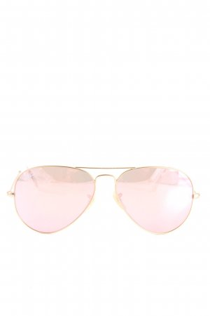 Ray Ban Brille pink-goldfarben Casual-Look