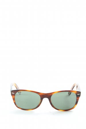 Ray Ban Glasses leopard pattern casual look
