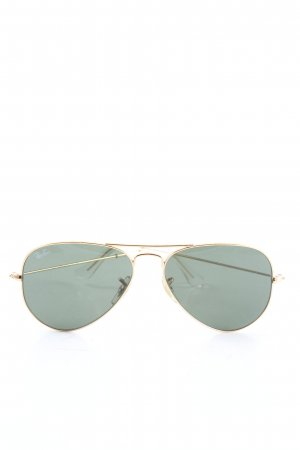 Ray Ban Glasses gold-colored-light grey casual look