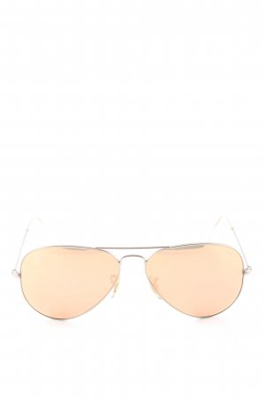 Ray Ban Glasses cream casual look