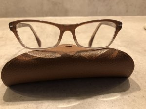 Ray Ban Gafas color bronce-camel acetato