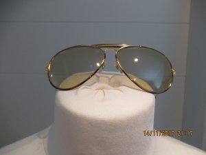 Ray Ban Brille Vintage mit rost  braunem Steg